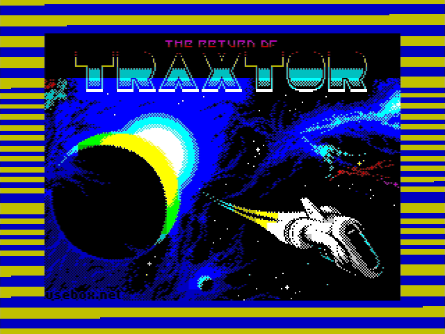 Zx Spectrum - The Return Of Traxtor [48k]